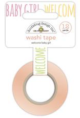 DOODLEBUG bundle of joy: welcome baby girl washi tape