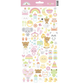DOODLEBUG bundle of joy: bundle of joy icons sticker