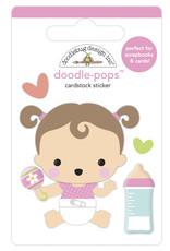 DOODLEBUG bundle of joy: sweet girl doodle-pops