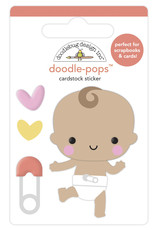 DOODLEBUG bundle of joy: baby steps doodle-pops