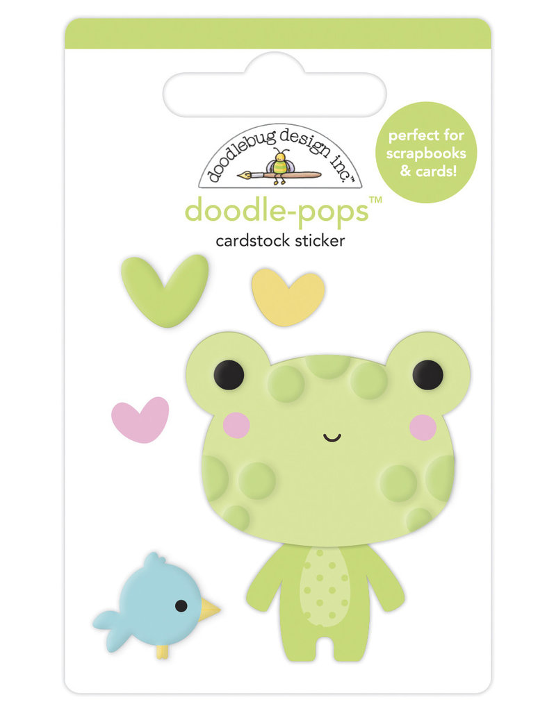 DOODLEBUG bundle of joy: hoppy day doodle-pops