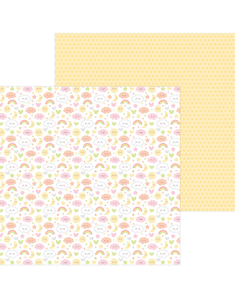 DOODLEBUG bundle of joy: sweet dreams double-sided cardstock