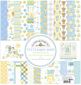 DOODLEBUG special delivery: special delivery 12x12 paper pack
