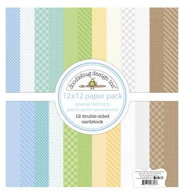 DOODLEBUG special delivery: special delivery petite print assortment pack