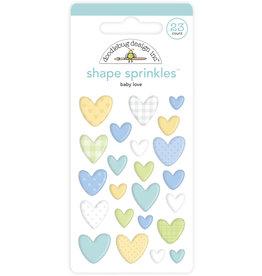 DOODLEBUG special delivery: baby love shape sprinkles