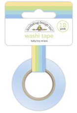 DOODLEBUG special delivery: baby boy stripes washi tape