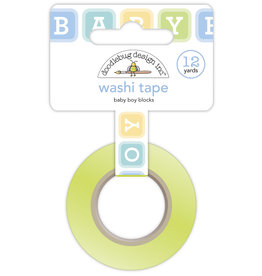 DOODLEBUG special delivery: baby boy blocks washi tape