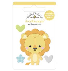 DOODLEBUG special delivery: lovable lion doodle-pops