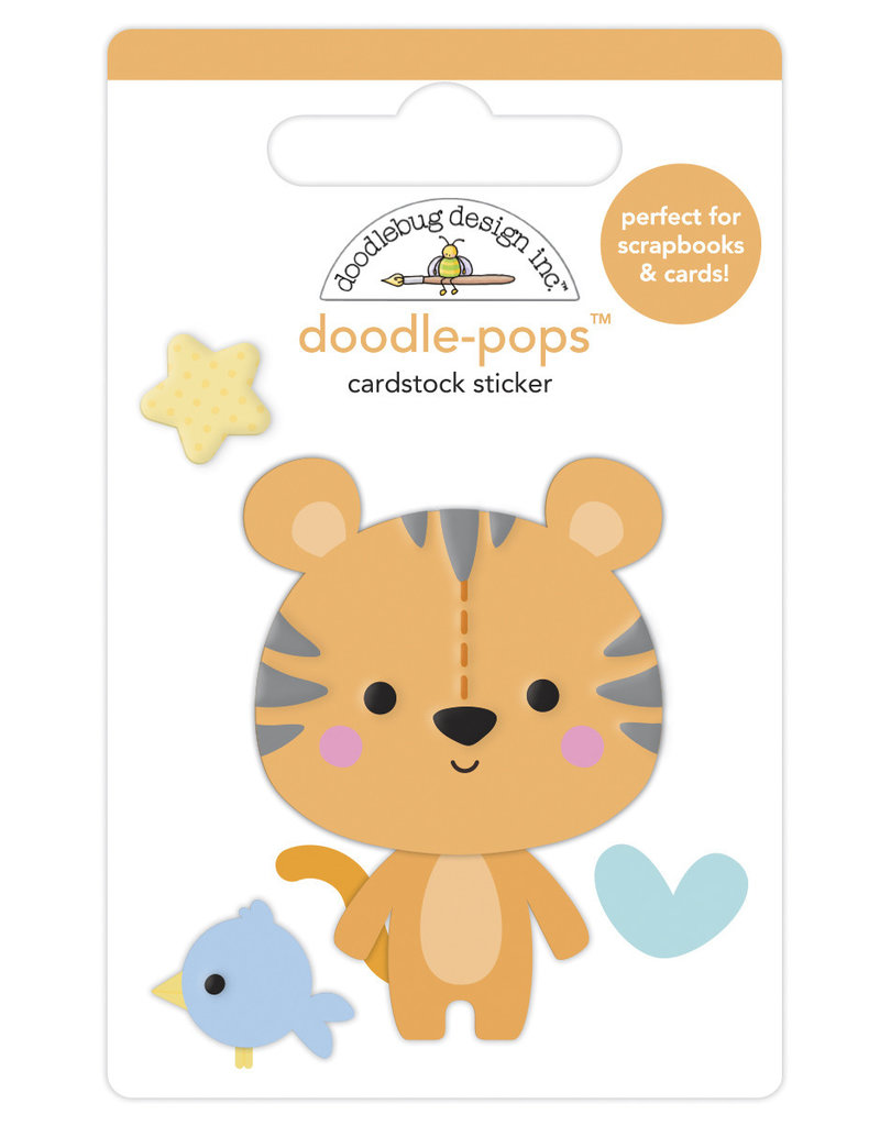 DOODLEBUG special delivery: cuddly cub doodle-pops