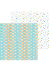 DOODLEBUG special delivery: baby boy double-sided cardstock