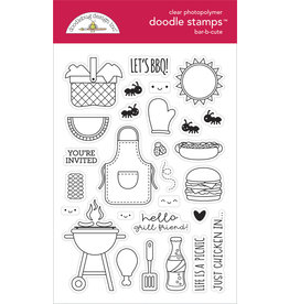 DOODLEBUG bar-b-cute: bar-b-cute doodle stamps