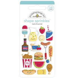 DOODLEBUG bar-b-cute: taste of summer shape sprinkles