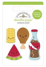 DOODLEBUG bar-b-cute: foodie friends doodle-pops