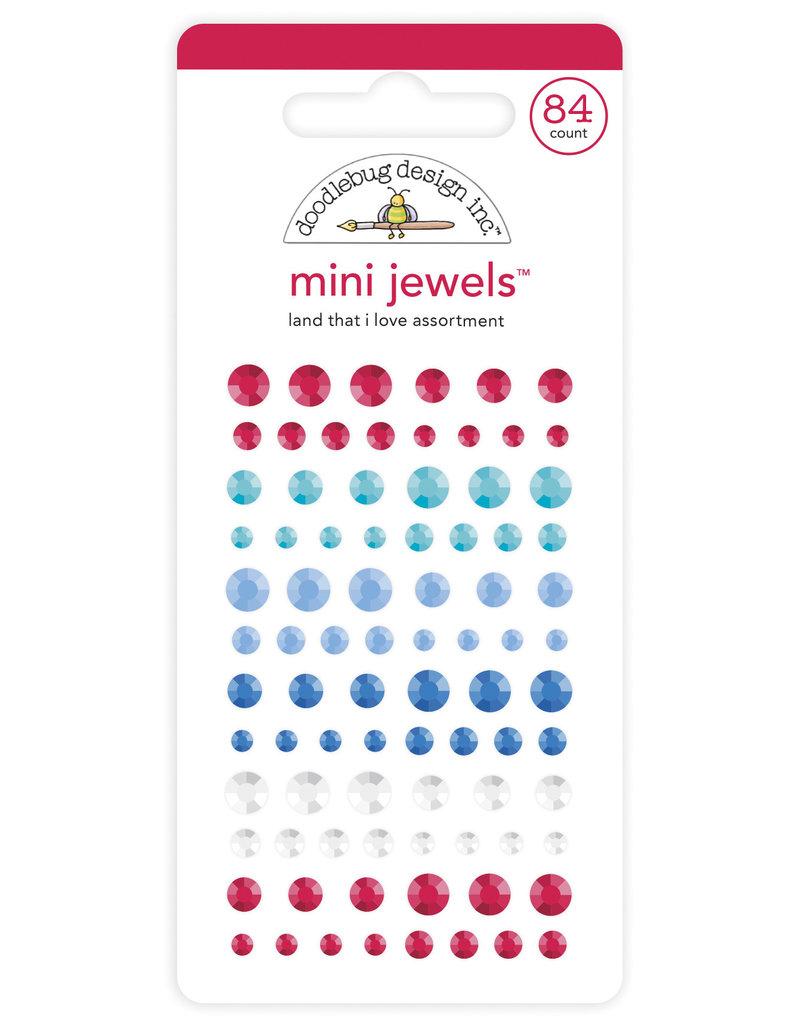 DOODLEBUG land that i love  : land that i love mini jewels