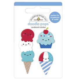DOODLEBUG land that i love  : summer sweets doodle-pops