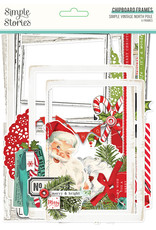 simple stories Simple Vintage North Pole: Chipboard Frames
