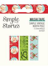simple stories Simple Vintage North Pole: Washi Tape