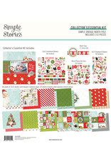 simple stories Simple Vintage North Pole: Collector's Essential Kit