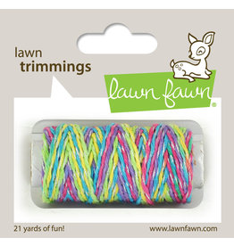 lawn fawn Unicorn Tail sparkle cord