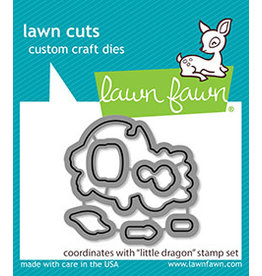 lawn fawn little dragon dies