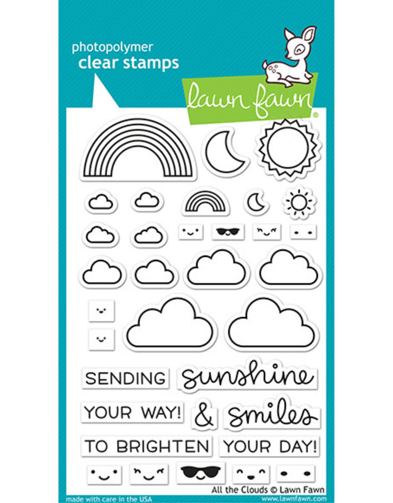 lawn fawn all the clouds stamp