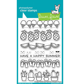 lawn fawn simply celebrate summer stamp