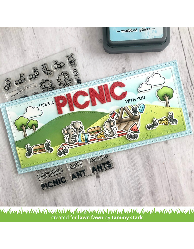 lawn fawn crazy antics stamp