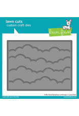 lawn fawn puffy cloud backdrop: landscape