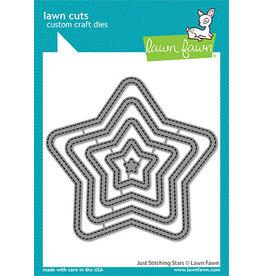 lawn fawn just stitching stars die