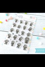 Mama elephant ME Stamp:Little Mummy Agenda