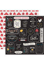Echo Park EP Farmhouse Kitchen Paper: Kitchen Rules