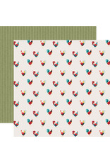 Echo Park EP Farmhouse Kitchen Paper: Roaming Roosters