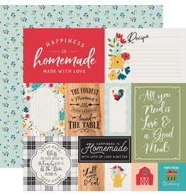 Echo Park EP Farmhouse Kitchen Paper: Multi Journaling Cards