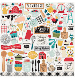 Echo Park EP Farmhouse Kitchen:  Element Sticker