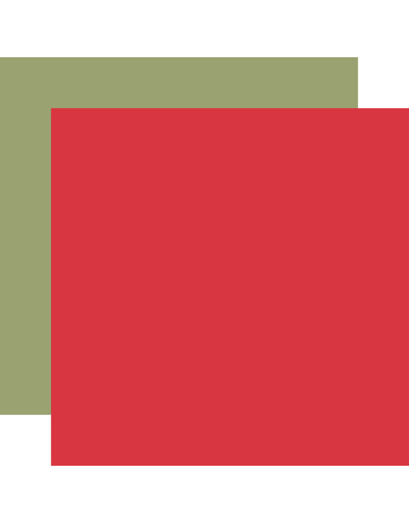 Echo Park EP Farmhouse Kitchen Paper: Red / Green