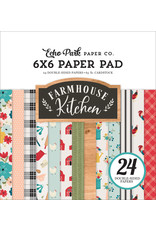 Echo Park EP Farmhouse Kitchen:  6x6 Paper Pad