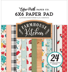 Echo Park EP Farmhouse Kitchen:  6x6 Paper Pad