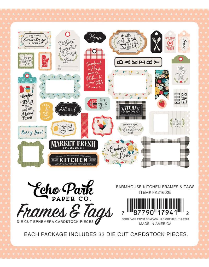 Echo Park EP Farmhouse Kitchen:  Frames & Tags