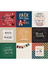 Echo Park EP Witches & Wizards: 4X4 Journaling Cards