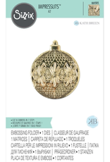 sizzix Impresslits Embossing Folder: Ornament
