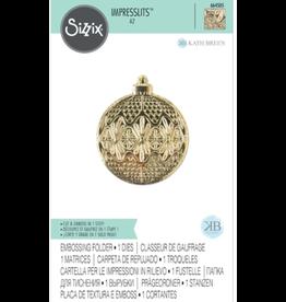 sizzix Impresslits Embossing Folder: Ornament