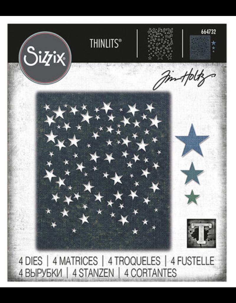 Tim Holtz Falling Stars Thinlits