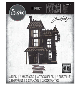 Tim Holtz Haunted Thinlits Dies