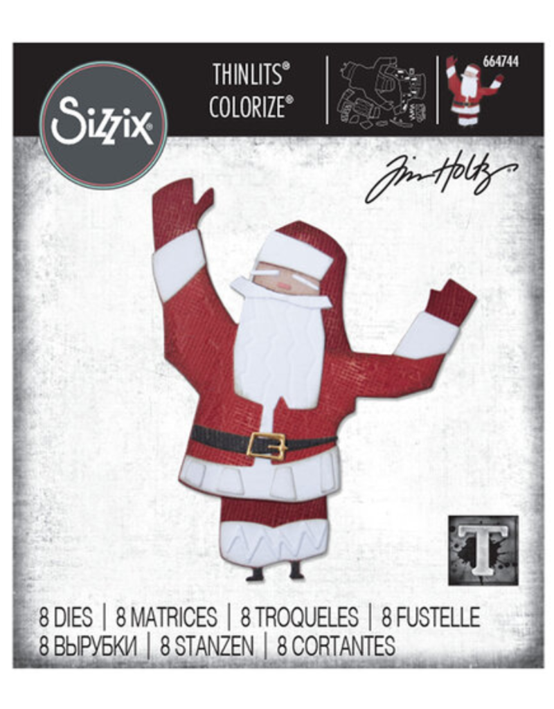 Tim Holtz Papercut Christmas #1 Colorize Thinlits Dies