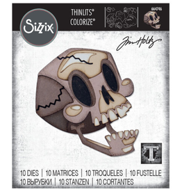 Tim Holtz Skelly Colorize Thinlits Dies
