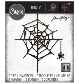 Tim Holtz Sprider Web Thinlits Dies
