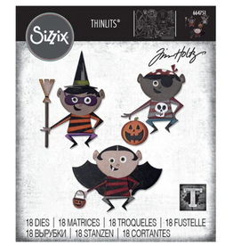 Tim Holtz Trick or Treater Thinlits Dies
