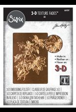 Tim Holtz Poinsettia 3D Embossing Folder
