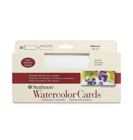 strathmore Slimline Watercolor Cards