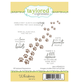 Taylored expressions Whiskers Stamp